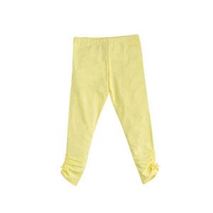 Kız Çocuk Tayt Açık Sarı (3-12 yaş)