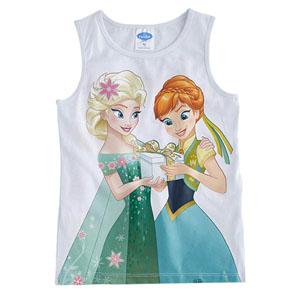 Disney Frozen Kolsuz Tişört Beyaz  (8-10 yaş)