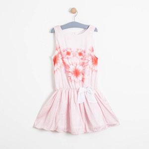 Kız Çocuk Kolsuz Elbise Beyaz (8-12 yaş)