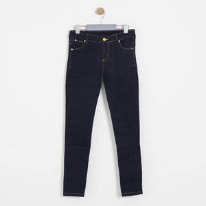 Kız Çocuk Kot Pantolon Lacivert (8-12 yaş)