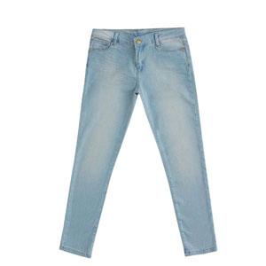 Kız Çocuk Kot Pantolon Açık Mavi (8-12 yaş)