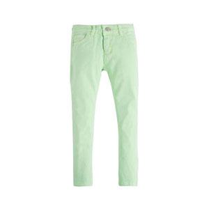 Kız Çocuk Kot Pantolon Neon Yeşil (8-12 yaş)