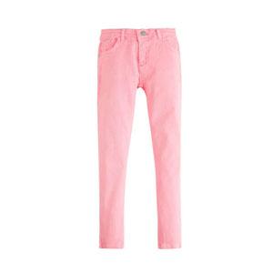 Kız Çocuk Kot Pantolon Neon Pembe (8-12 yaş)