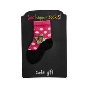 Ayakkabı Desenli Çorap Pembe (3-24 ay)