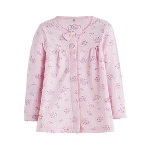 Picnic Blossom Fiyonklu Kız Bebek Hırka Pembe (0-2 yaş)