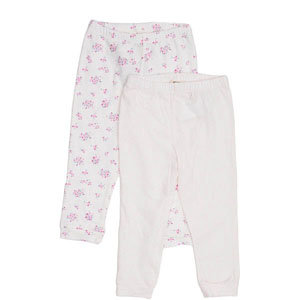 Picnic Blossom İkili Pantolon Set Ekru (0-2 yaş)