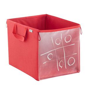 Oyuncak Saklama Kutusu Kırmızı 26x18x17