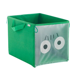 Oyuncak Saklama Kutusu Yeşil 26x18x17