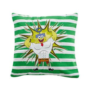 Sponge Bob Yastık Yeşil 40x40