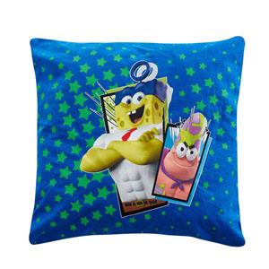 Sponge Bob Yastık Mavi 40x40