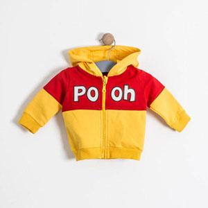 Winnie The Pooh Sweatshirt Kırmızı(0 ay-3 yaş)