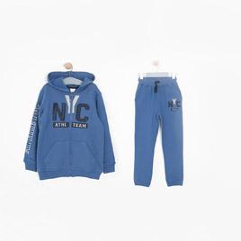 Erkek Çocuk Eşofman Takımı Havacı Mavi (3-7 yaş)
