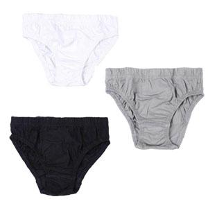 Erkek Çocuk Üçlü Külot Set Beyaz (2-6 yaş)