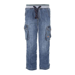 Erkek Çocuk Kot Pantolon Lacivert (3-5 yaş)
