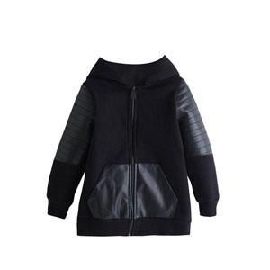 Erkek Çocuk Sweatshirt Siyah (8-10 yaş)