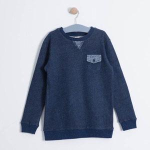 Erkek Çocuk Sweatshirt Violet (3-7 yrs)