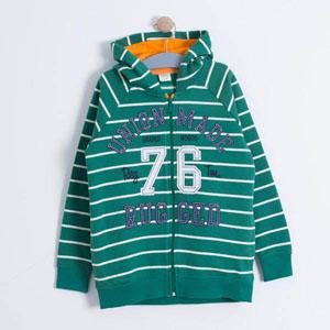 Erkek Çocuk Sweatshirt Yeşil (3-7 yrs)