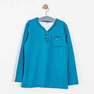 Erkek Çocuk Uzun Kol Tişört Baltık (8-10 yaş)
