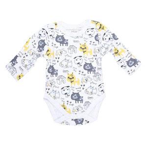 Baby Boy 3 Pack Long Sleeve Body Blue (0-2 yrs)