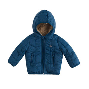 Erkek Bebek Mont Ördek Yeşili (0-3 yaş)
