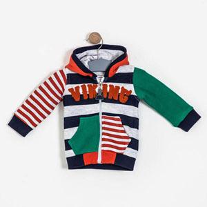 Erkek Bebek Sweatshirt Gri Melanj (0-2 yaş)