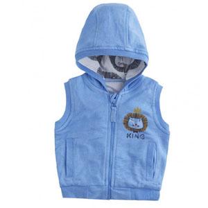 Erkek Bebek Yelek Mavi (0-2 yaş)