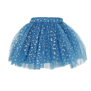 Kız Çocuk Etek Mavi (3-7 yaş)