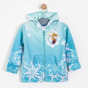 Disney Frozen Kapüşonlu Sweatshirt Yeşil (2-7 yaş)
