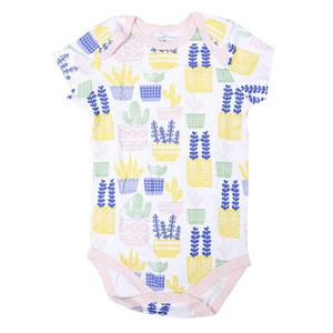 Kız Bebek Üçlü Kısa Kol Body Set Beyaz (0-2 yaş)
