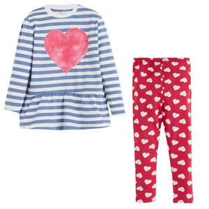 Kız Bebek Pijama Takımı Fuşya (74 cm-3 yaş)