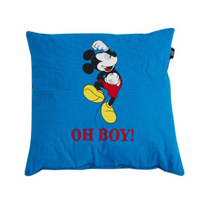 Disney Mickey Mouse Erkek Çocuk Yastık 40*40 Mavi