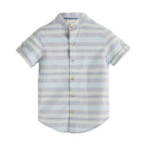 Erkek Çocuk Kısa Kol Gömlek Bulut (3-10 yaş)