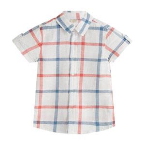 Erkek Çocuk Kısa Kol Gömlek Mavi (3-10 yaş)