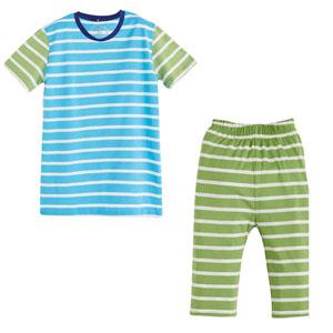 Erkek Çocuk Pijama Takımı Mavi (4-12 yaş)