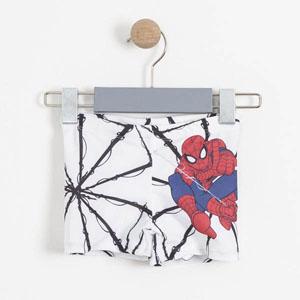 Ultimate Spider-Man Erkek Çocuk Şort Mayo Beyaz (2-7 yaş)