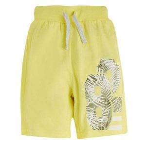 Erkek Çocuk Şort Limon Sarısı (3-12 yaş)
