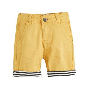 Erkek Çocuk Şort Sarı (3-12 yaş)