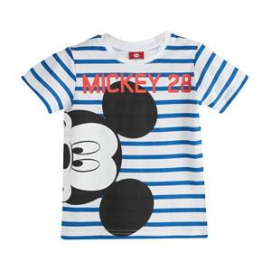 Disney Mickey Mouse Erkek Çocuk Kısa Kol Tişört Mavi (2-7 yaş)