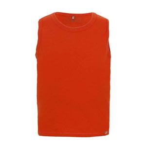 Erkek Bebek Kolsuz T-Shirt Nar (0-2 yaş)