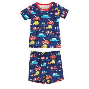 Erkek Bebek Pijama Takımı Lacivert (0-3 yaş)