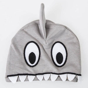 Erkek Bebek Şapka Gri (Tek Beden)