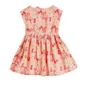 Kız Çocuk Kolsuz Elbise Green Tea (3-10 yaş)
