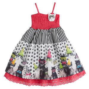 Kız Çocuk Askılı Elbise Fuşya (1-5 yaş)
