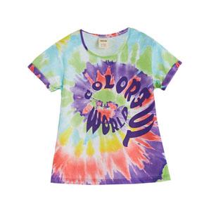60s Flower Girls Kısa Kol T-Shirt Baskılı (3-12 yaş)