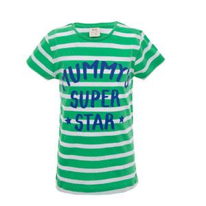 Pop Girls Super Star Anne Kısa Kol Tişört Çam (3-12 yaş)