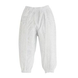 Pop Girls Dantel Detaylı Kapri Beyaz (0-2 yaş)