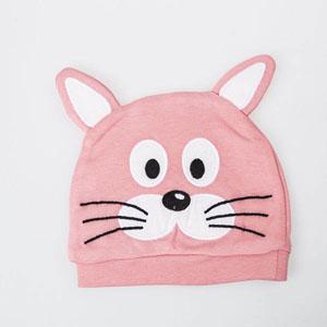 Tavşan Şapka Pembe (Standart)