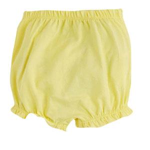 Pop Girls Külot Şort Limon Sarısı (0-2 yaş)