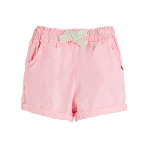 Pop Girls Mini Şort Neon Pembe (0-2 yaş)