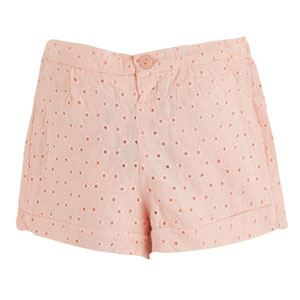 Little Parisienne Mini Şort Pembe (0-2 yaş)